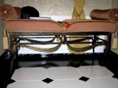 Кованая мебель - банкетка